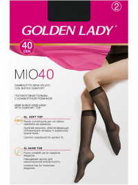 Гольфы GOLDEN LADY MIO 40 gambaletto, 2 paia