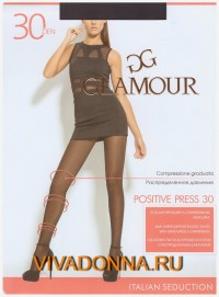 Колготки Glamour Positive Press 30