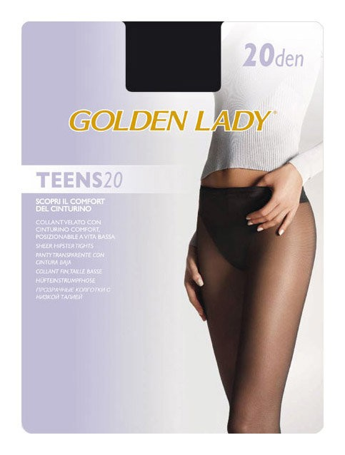 Колготки Golden Lady Teens 20 Vita Bassa