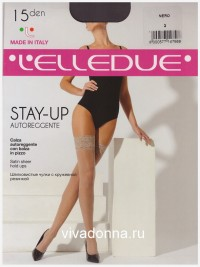 Чулки Elledue STAY-UP 15 autoreggente