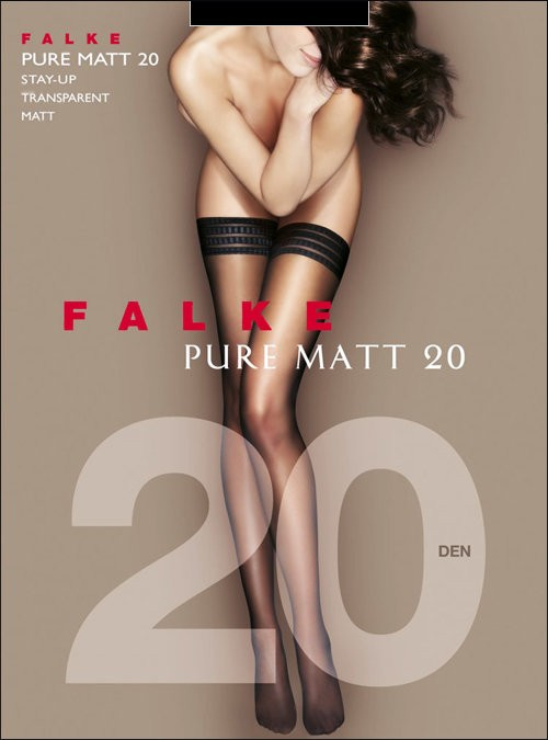 Чулки Falke Pure Matt 20 Stay-Up art. 41513