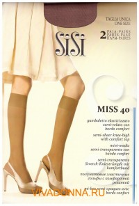 Гольфы Sisi Miss 40 gambaletto, 2 paia